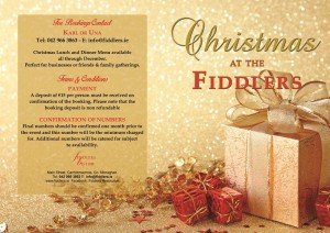Fiddlers Xmas Brochure Front small