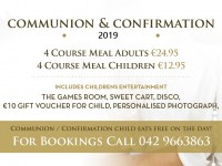 timeline 2019 communion